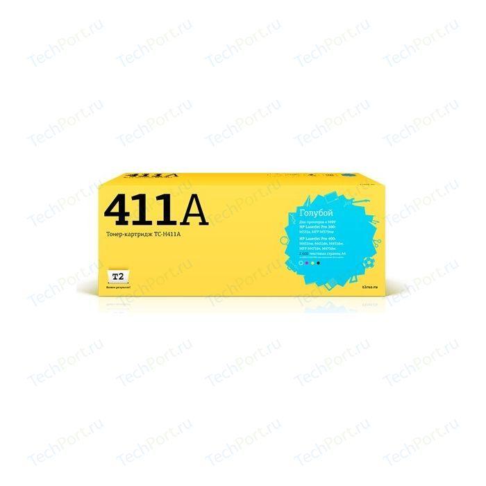 Картридж T2 CE411A-T2 (TC-H411A)