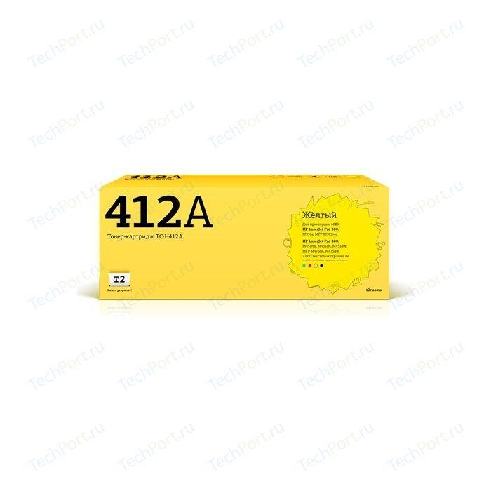 Картридж T2 CE412A-T2 (TC-H412A)