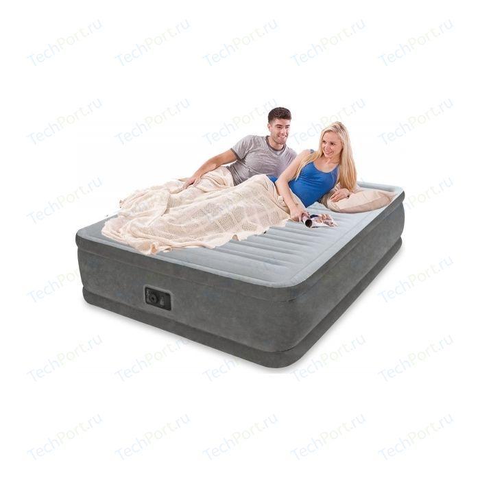 Надувная кровать Intex Comfort-plush high 152х203х56 см (64418)