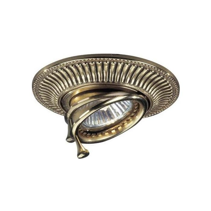 Точечный поворотный светильник Reccagni Angelo SPOT 1082 oro