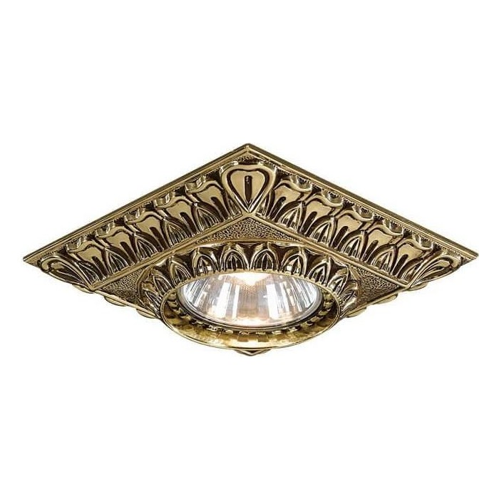 Потолочный светильник Reccagni Angelo SPOT 1083 oro подсветка для картин reccagni angelo a1000 2 oro