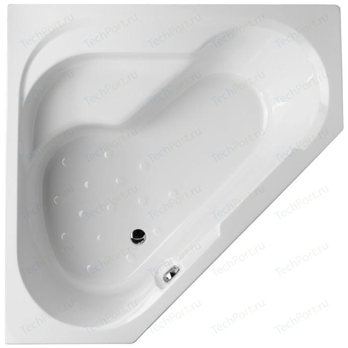 Акриловая ванна Jacob Delafon Bain Douche угловая 145x145 L, левая, на каркасе (E6222RU-00, SF221RU-NF)