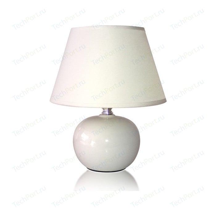 цена Настольная лампа Estares AT09360 white онлайн в 2017 году