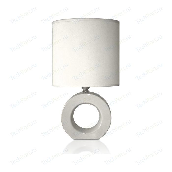 цена Настольная лампа Estares AT12293 white онлайн в 2017 году