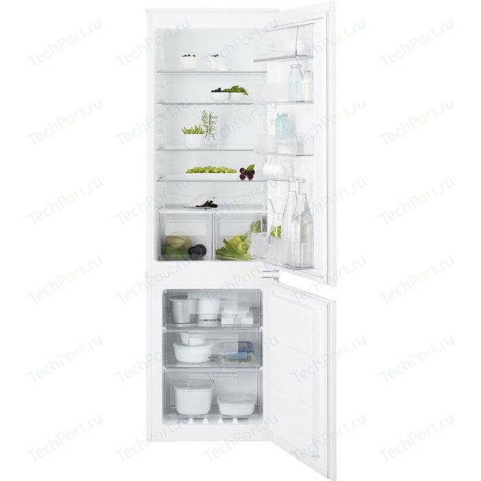 Встраиваемый холодильник Electrolux ENN 92841 AW встраиваемый холодильник electrolux enn 92803cw