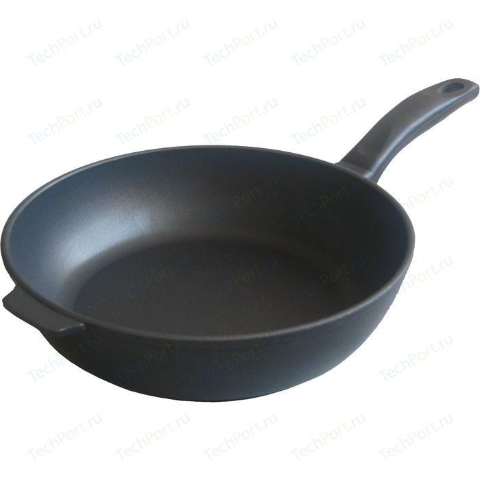 Сковорода НМП Комфортная d 24 см 7224К сковорода d 24 см kukmara кофейный мрамор смки240а