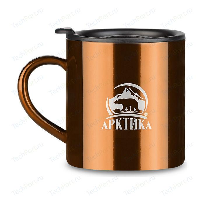 Термокружка 0.4 л Арктика кофейная 802-400