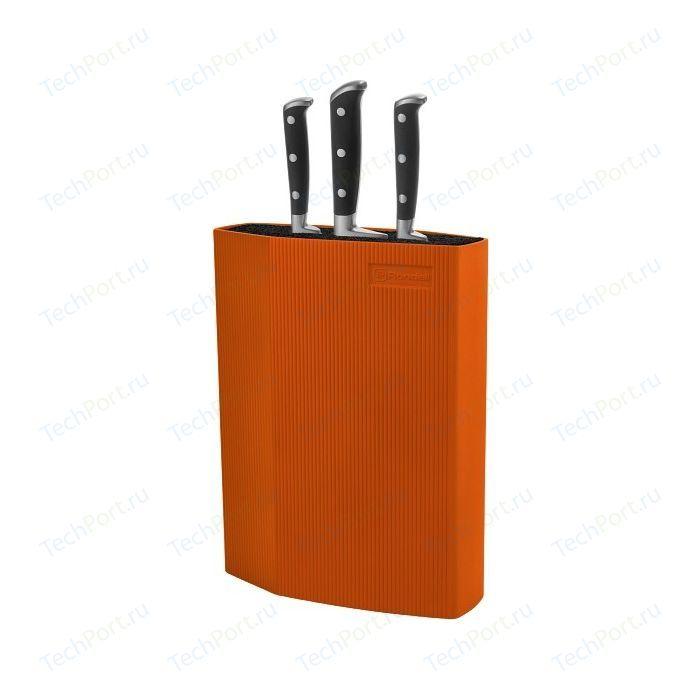 Подставка для ножей универсальная Rondell оранжевая RD-470
