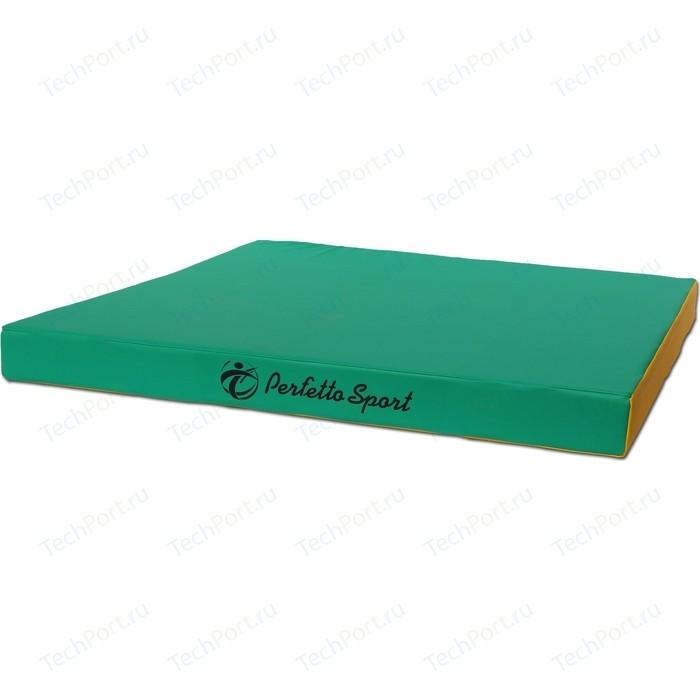 Мат PERFETTO SPORT № 2 (100 х 100 10) зелёно-жёлтый