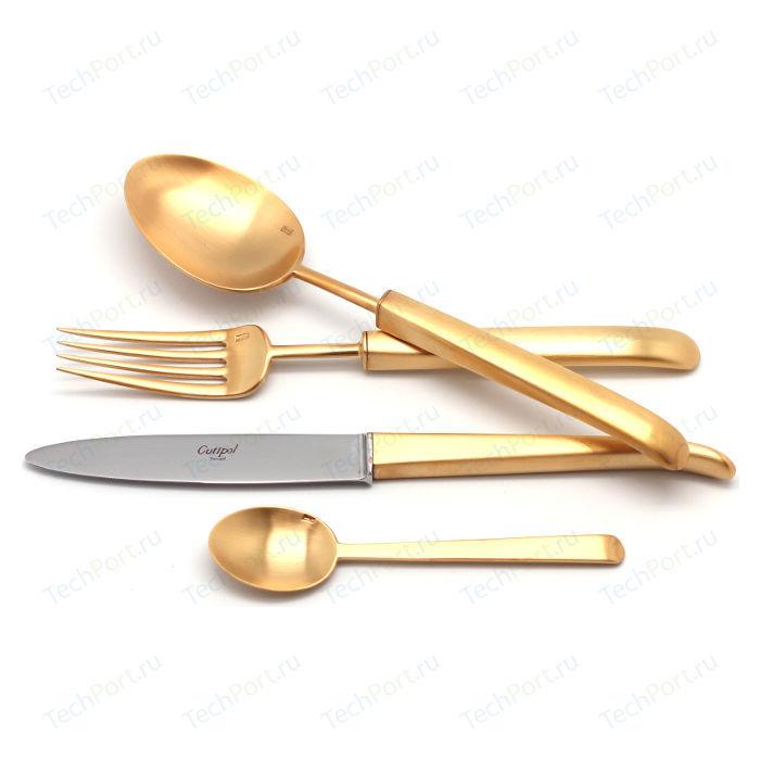 Набор столовых приборов Cutipol Carre gold из 72-х предметов 9132-72