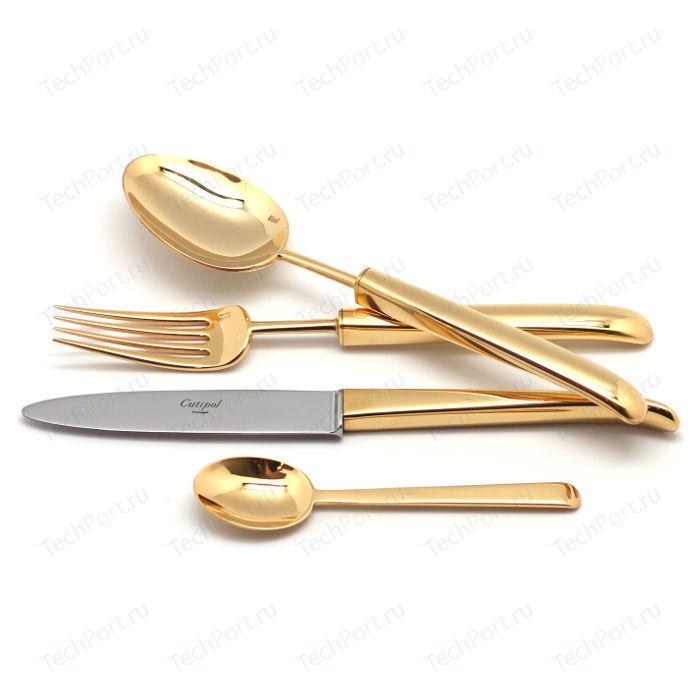 Набор столовых приборов Cutipol Carre gold из 72-х предметов 9131-72
