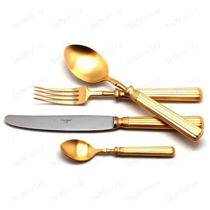 Набор столовых приборов Cutipol Line gold из 24-х предметов 9172