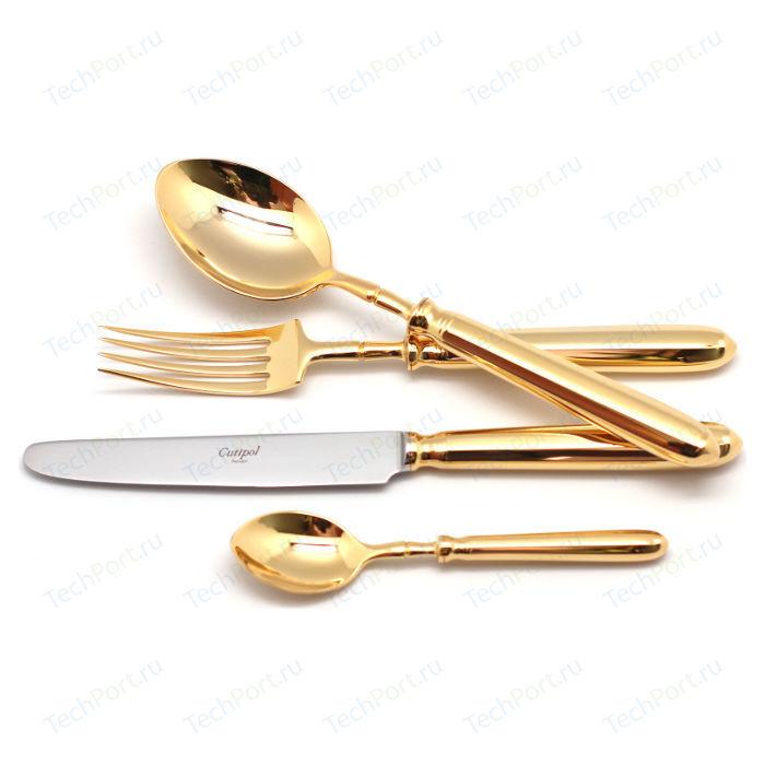 Набор столовых приборов Cutipol Mithos gold из 72-х предметов 9151-72