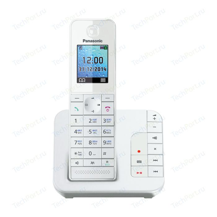 Радиотелефон Panasonic KX-TGH220RUW