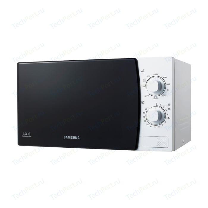 Микроволновая печь Samsung ME81KRW-1 блюдо vellarti бассет вращающееся диаметр 30 см 2170035
