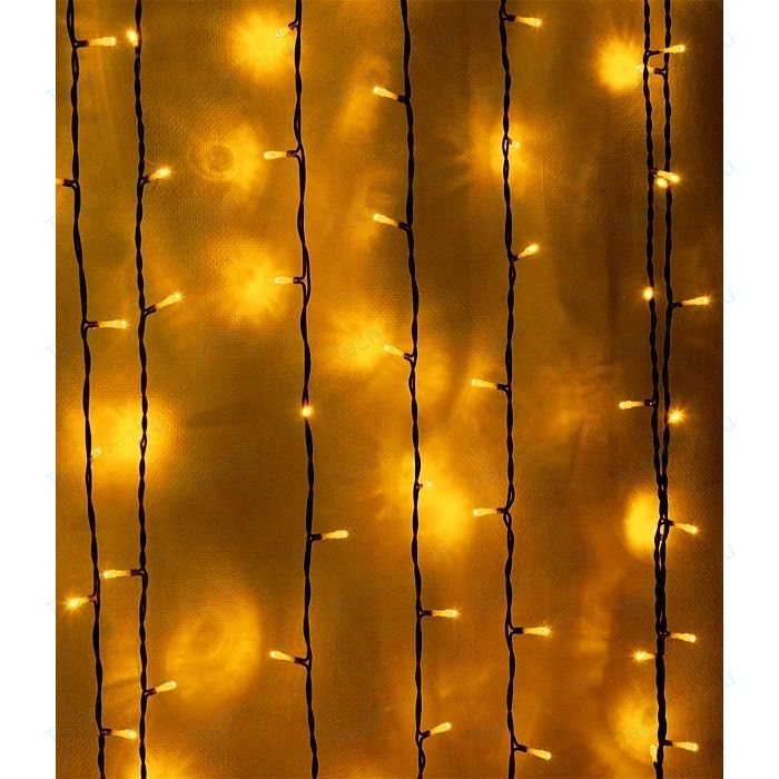 Фото - Light Светодиодный занавес желтый 2x3 прозрачный провод light светодиодный занавес красный 2x2 прозрачный провод мерц