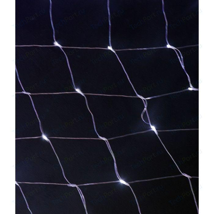 Фото - Light Светодиодная сеть белая 2x2 прозрачный провод light светодиодный занавес красный 2x2 прозрачный провод мерц