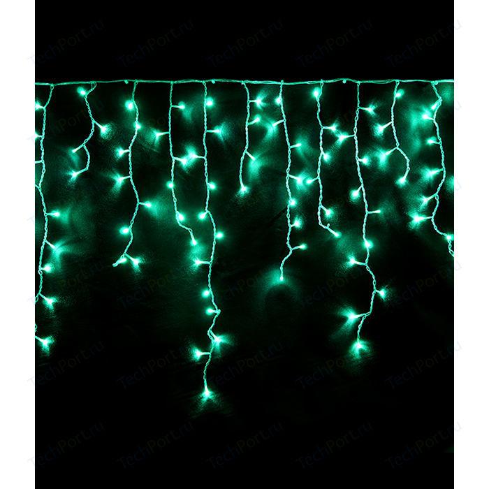 Light Светодиодная бахрома аква 1x1 прозрачный провод