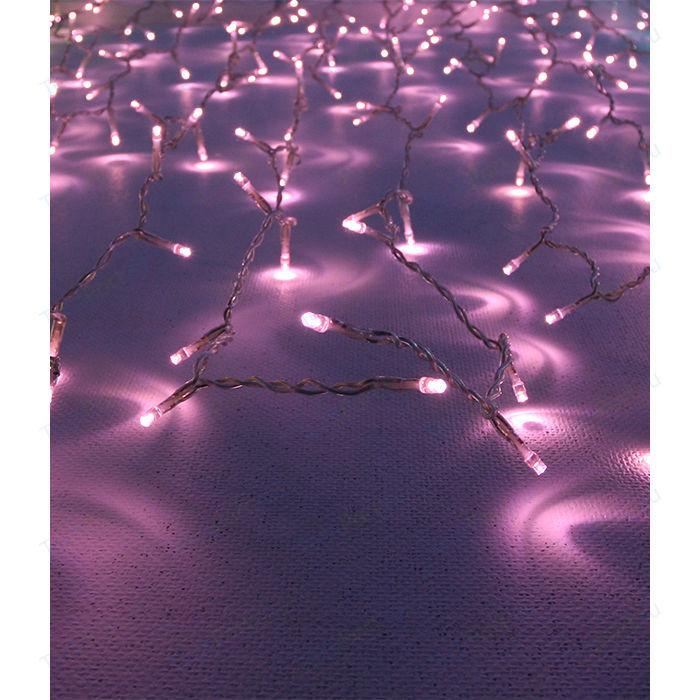 Фото - Light Светодиодный занавес светло розовый 1х2 прозрачный провод light светодиодный занавес красный 2x2 прозрачный провод мерц