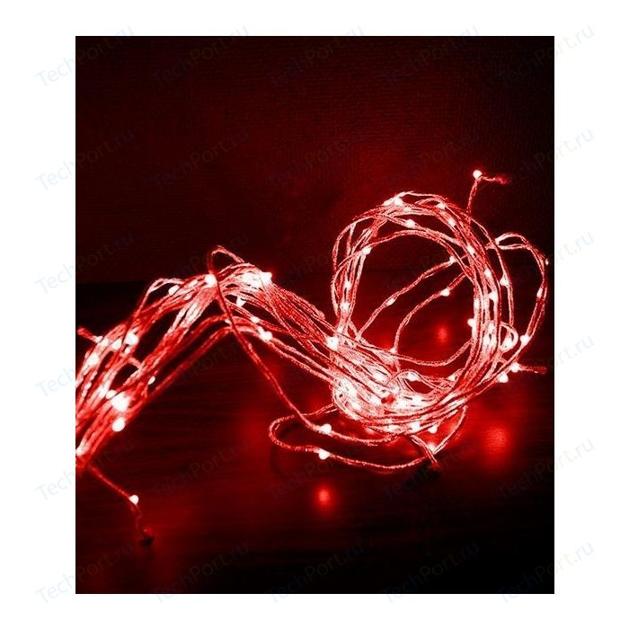 Гирлянда Light Branch light красная 2,5 м 700 led 24V красный шнур