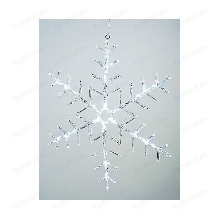 Светодиодная фигура Light Снежинка 50x50cm 24 led , 220/24v