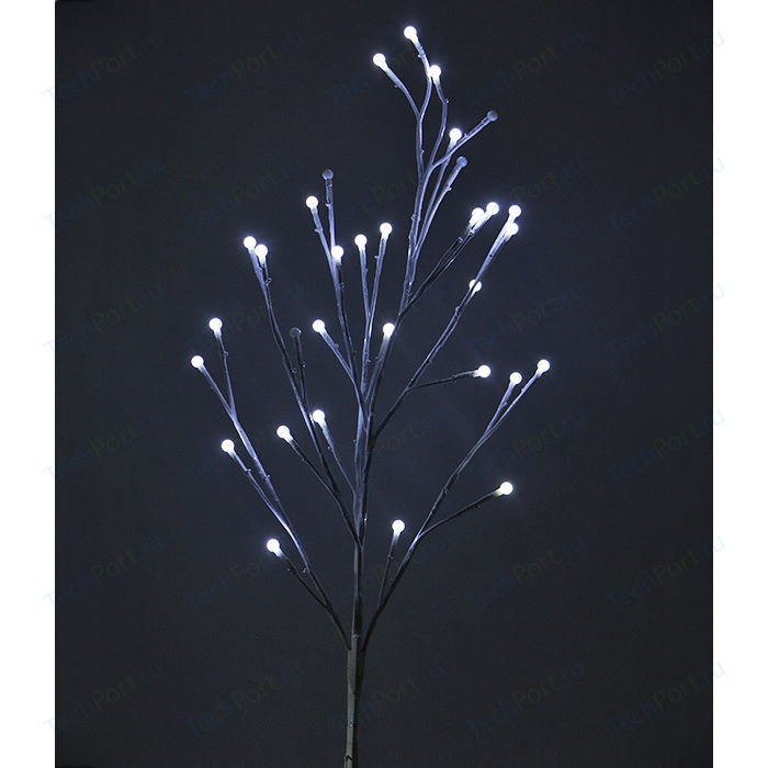 Light Ветка мерцающая шарики, 100 см, 24V, коричневый провод
