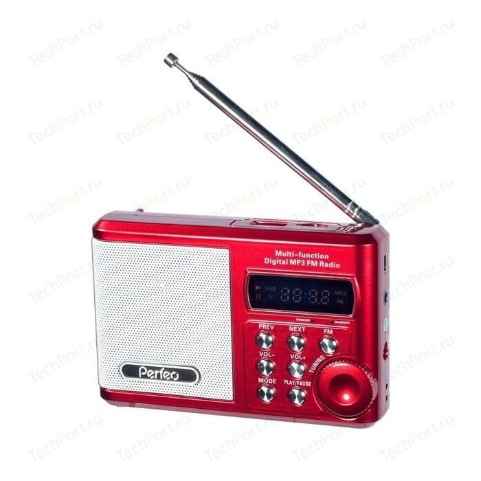 Портативная колонка Perfeo Sound Ranger red