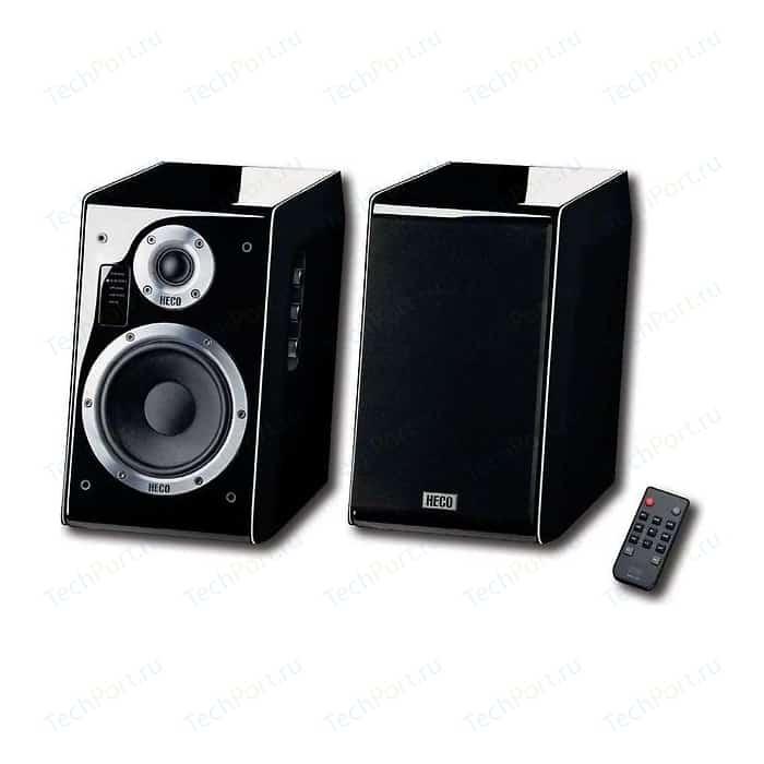 Полочная акустика Heco Ascada 2.0 BTX piano black SET