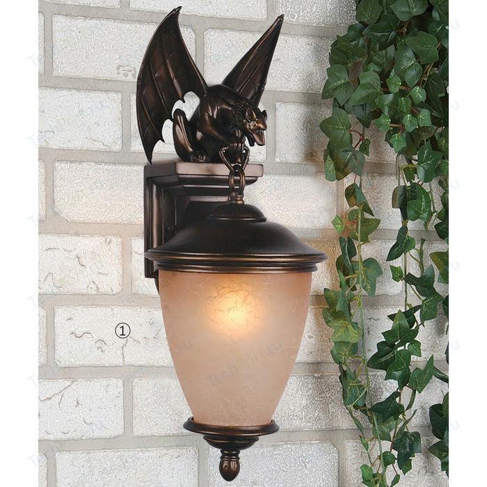 Уличный настенный светильник Favourite 1338-1W