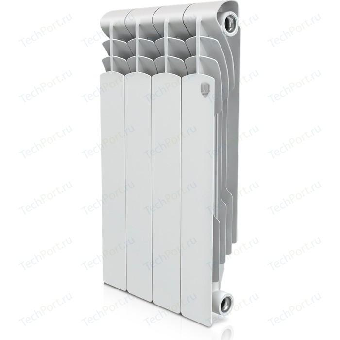 Радиатор отопления ROYAL Thermo биметаллический Revolution Bimetall 500 4 секции