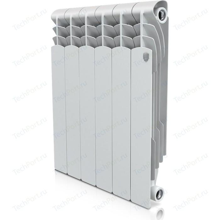 Радиатор отопления ROYAL Thermo биметаллический Revolution Bimetall 500 6 секций