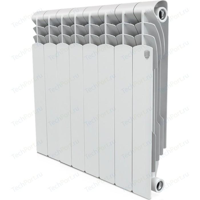 Радиатор отопления ROYAL Thermo биметаллический Revolution Bimetall 500 8 секций