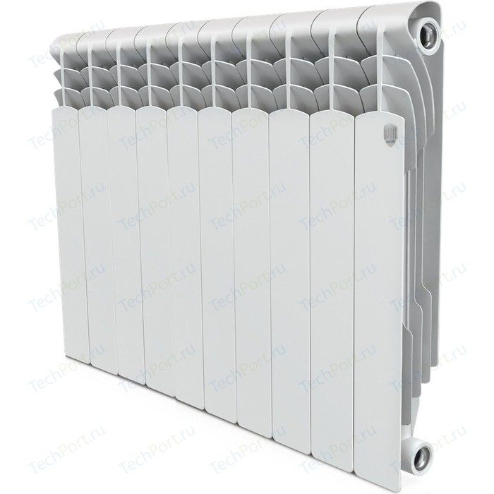 Радиатор отопления ROYAL Thermo биметаллический Revolution Bimetall 500 10 секций