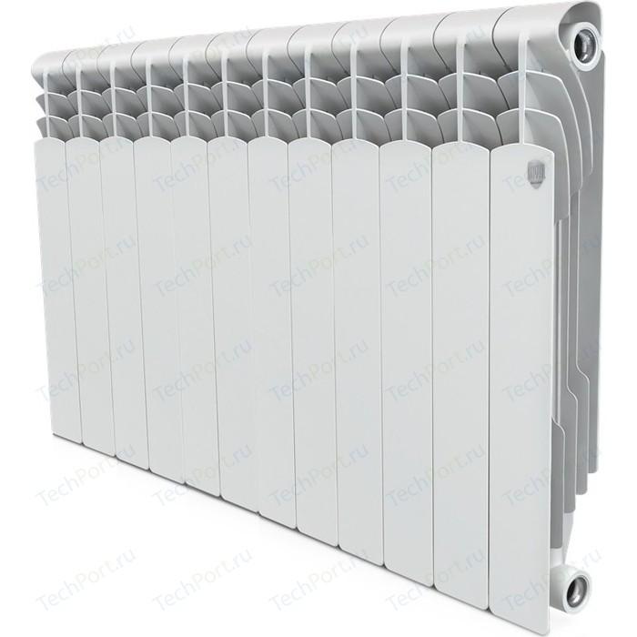 Радиатор отопления ROYAL Thermo биметаллический Revolution Bimetall 500 12 секций