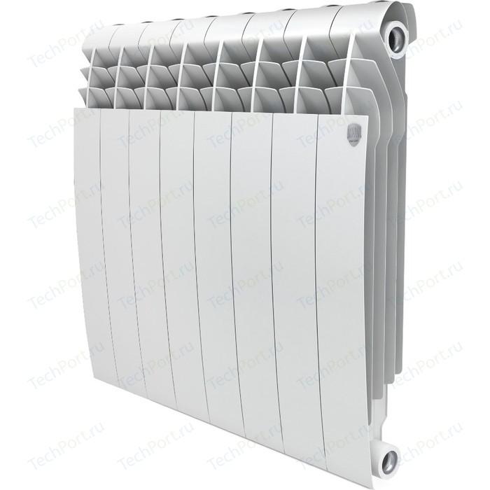 Радиатор отопления ROYAL Thermo биметаллический BiLiner 500 new секций 8