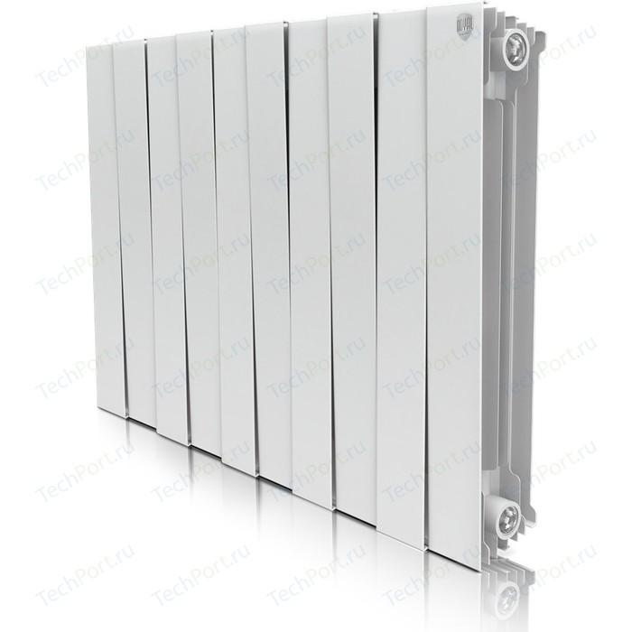 Радиатор отопления ROYAL Thermo биметаллический Piano Forte 500 Bianco Traffico 10 секций