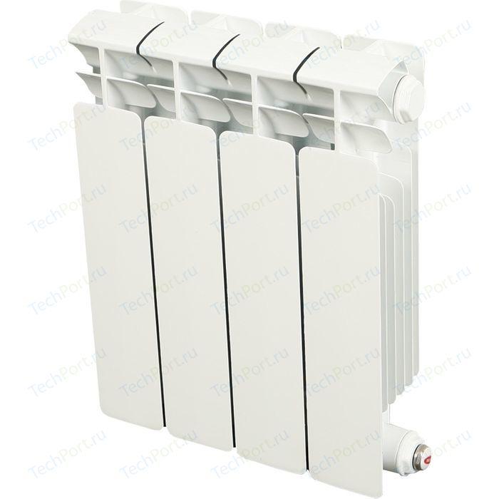 Радиатор отопления RIFAR BASE 350 4 секции биметаллический боковое подключение (RB35004)