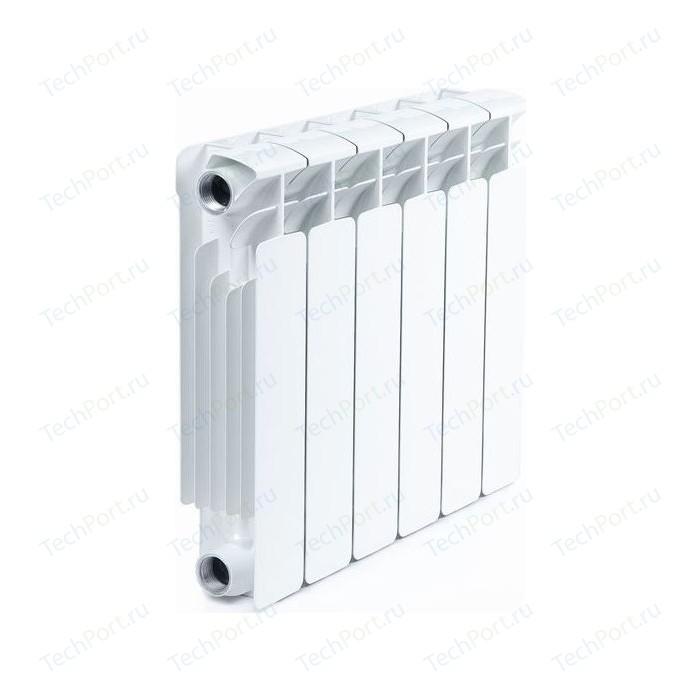 Радиатор отопления RIFAR BASE 350 6 секций биметаллический боковое подключение (RB35006)