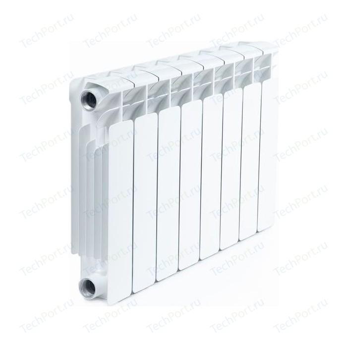 Радиатор отопления RIFAR BASE 350 8 секций биметаллический боковое подключение (RB35008)