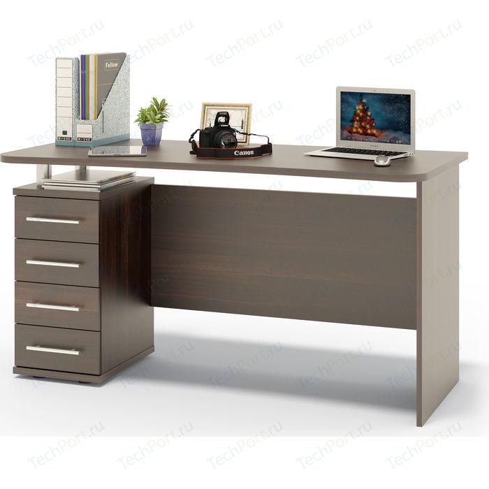 Стол компьютерный СОКОЛ КСТ-105.1 венге