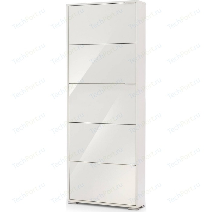 Обувница Вентал Арт Viva-5 зеркало белый