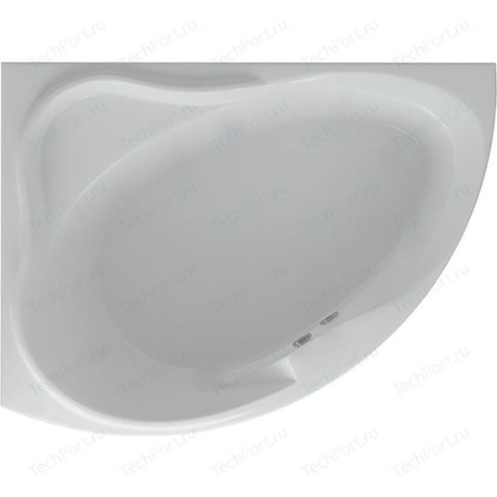 Акриловая ванна Aquatek Альтаир 160х120 левая, фронтальная панель, каркас, слив-перелив (ALT160-0000067)
