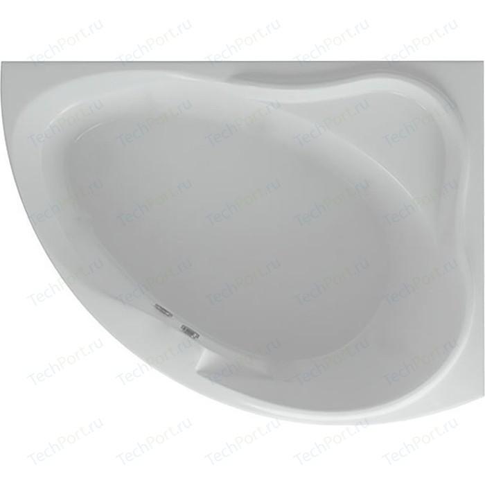 Акриловая ванна Aquatek Альтаир 160х120 правая, фронтальная панель, каркас, слив-перелив (ALT160-0000047)