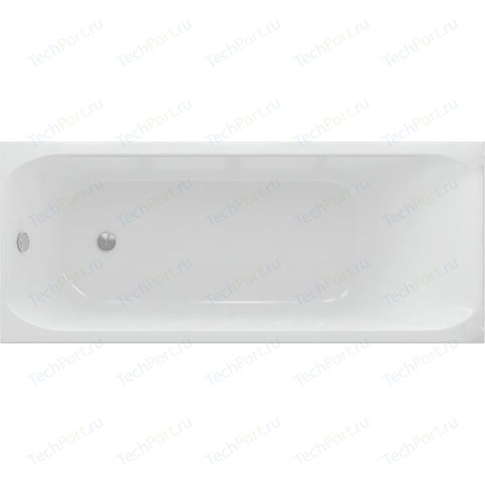 Акриловая ванна Aquatek Альфа 170х70 см фронтальная панель, каркас, слив-перелив (ALF170-0000047) акриловая ванна aquatek альфа 140х70 фронтальная панель каркас слив перелив alf140 0000019