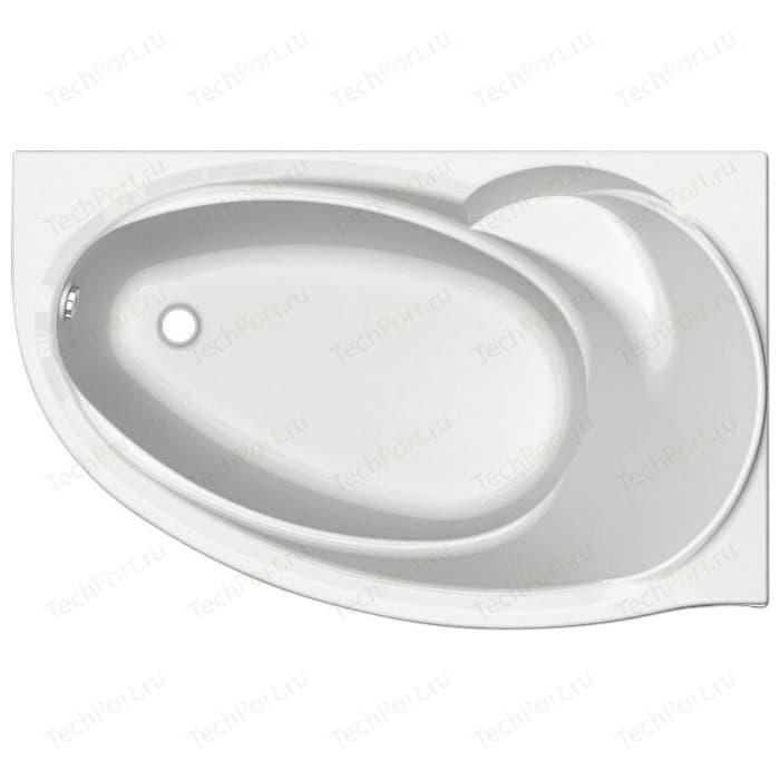 Акриловая ванна Aquatek Бетта 170х97см правая, фронтальная панель, каркас, слив-перелив (BET170-0000100)