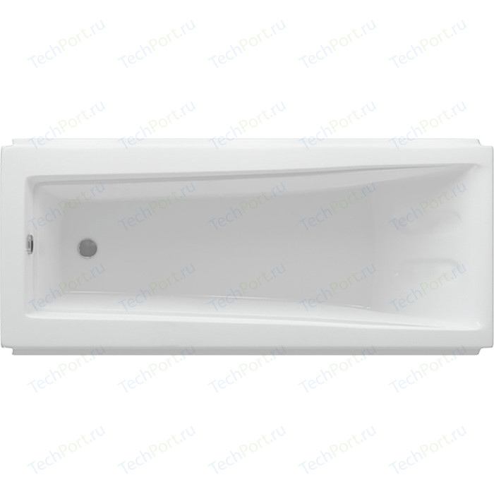 Акриловая ванна Aquatek Либра 170х70 фронтальная панель, каркас, слив-перелив (LIB170-0000021)