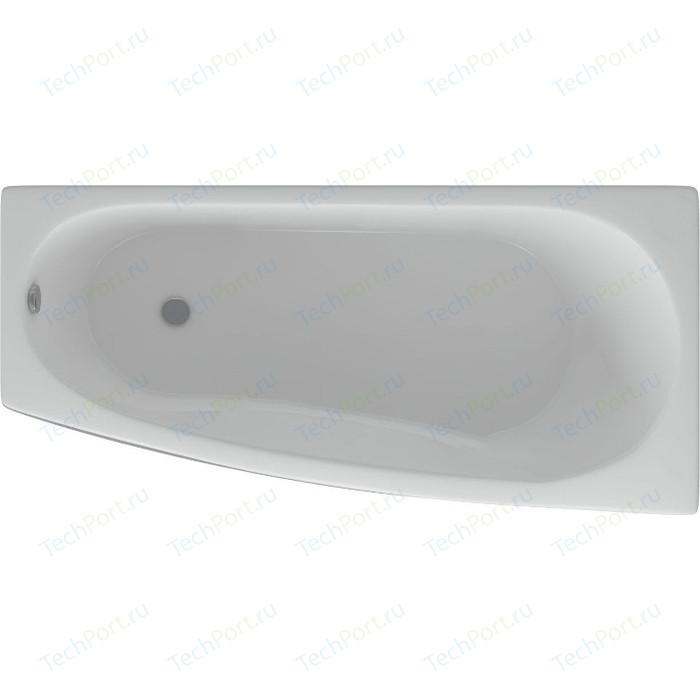 Акриловая ванна Aquatek Пандора 160х75 правая, фронтальная панель, каркас, слив-перелив (PAN160-0000039)