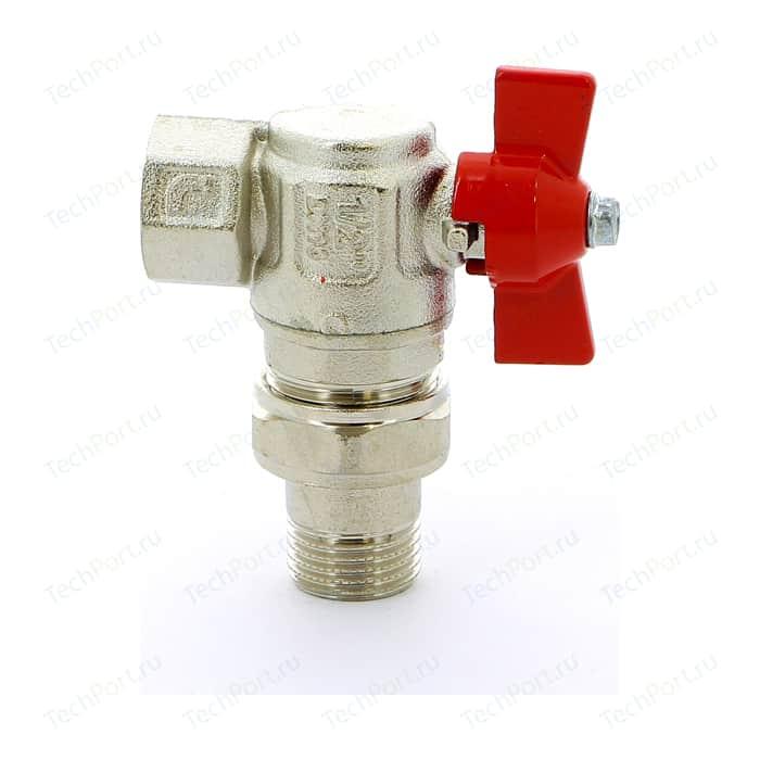 Кран шаровый ITAP шаровой угловой IDEAL ART 298 1/2 с разъемным соединением