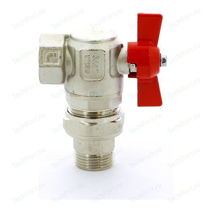 Кран шаровый ITAP шаровой угловой IDEAL ART 298 3/4 с разъемным соединением