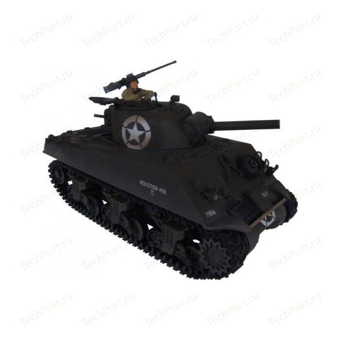 Танк Pilotage Sherman, р/у, (1:24), M4 (зеленый) ИК пушка. RC7317***